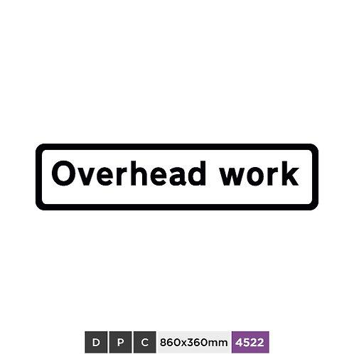 Overhead work
