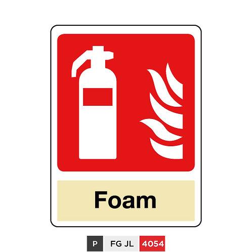 Fire extinguisher, Foam