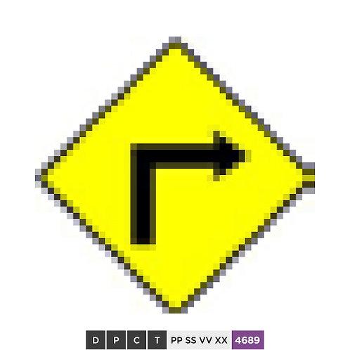Sharp Corner - Right