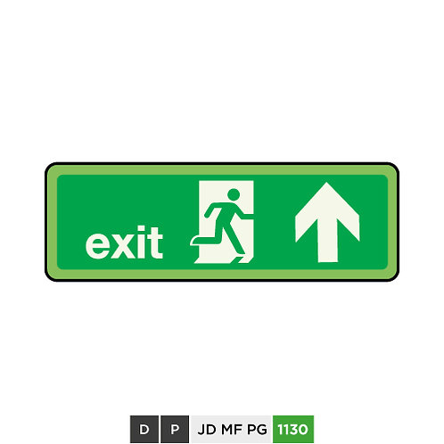 Exit (arrow up)