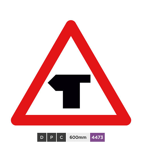 T-Junction with priority over vehicles from the right