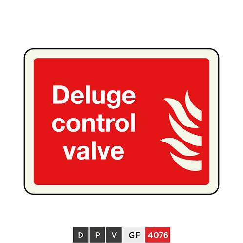Deluge control valve