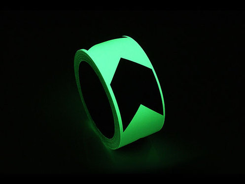 Glow in the Dark Directional Tape
