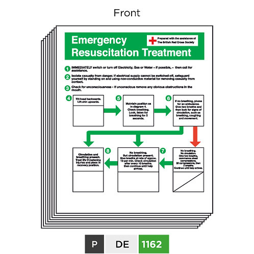 Emergency Resuscitation Treatment - First aid