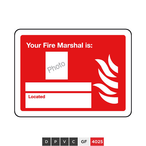 Your Fire Marshal is (insert photo and text)