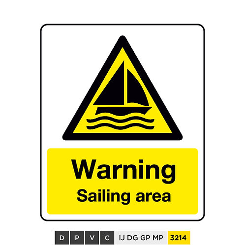 Warning, Sailing area