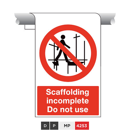 Scaffolding incomplete, Do not use