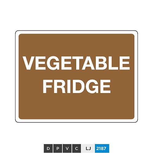 Vegetable fridge