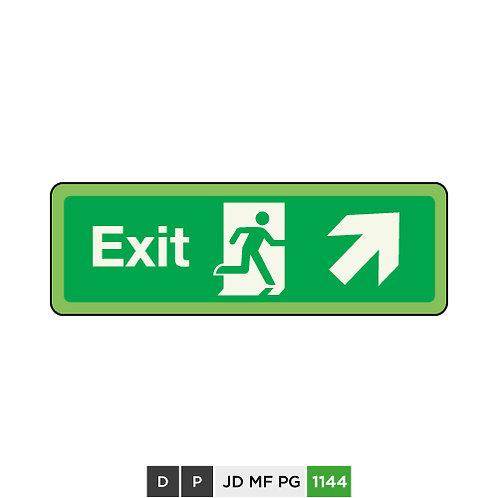 Exit (arrow top-right)