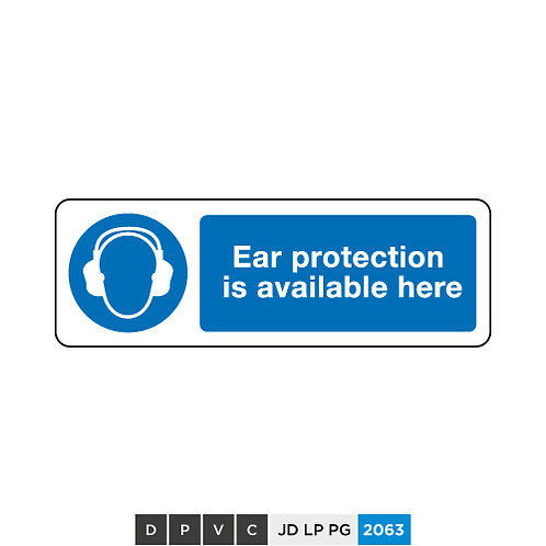 Ear protection is available here