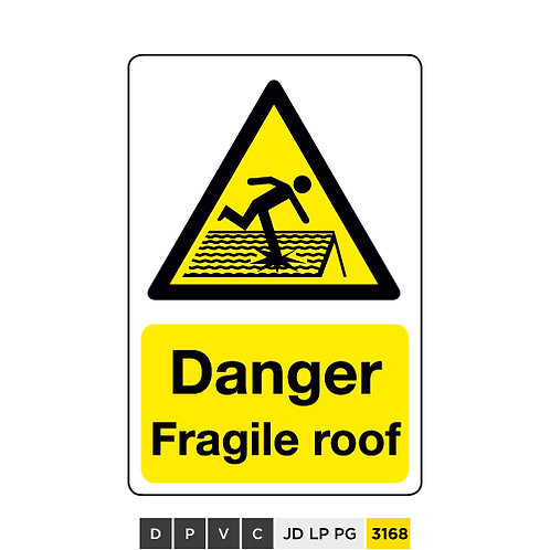 Danger, Fragile roof
