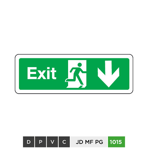 Exit (arrow down)