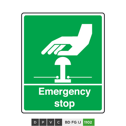 Emergency Stop (Green)