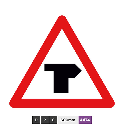 T-Junction with priority over vehicles from the left