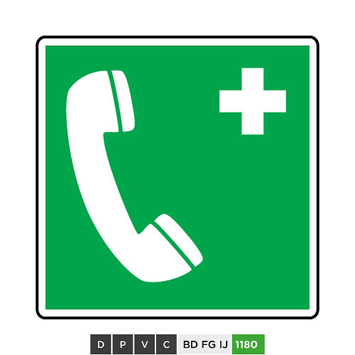 Emergency telephone symbol