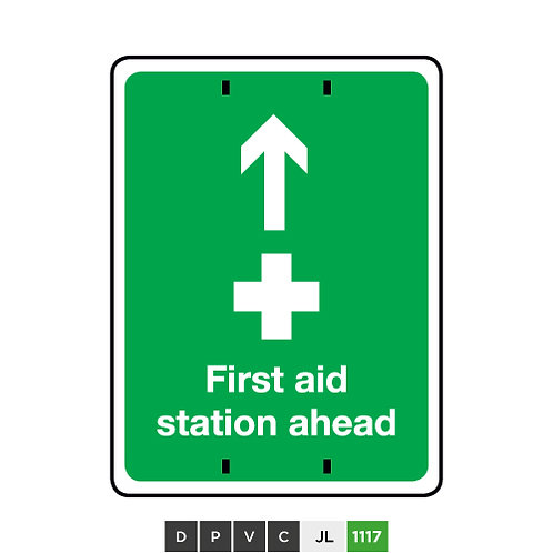 First Aid Station Ahead
