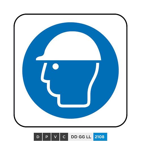 Helmet / Head protection symbol