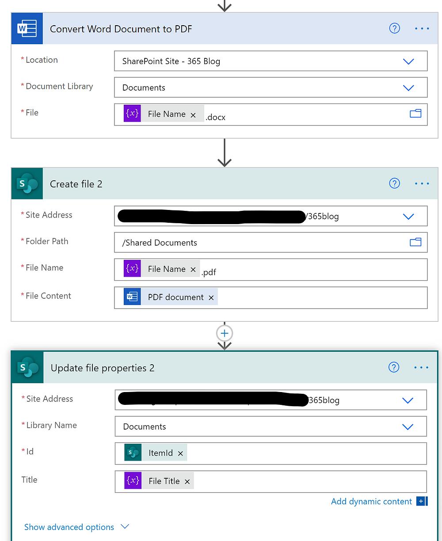 Create PDF Controls