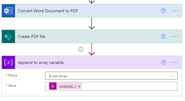 PDF Doc Errors