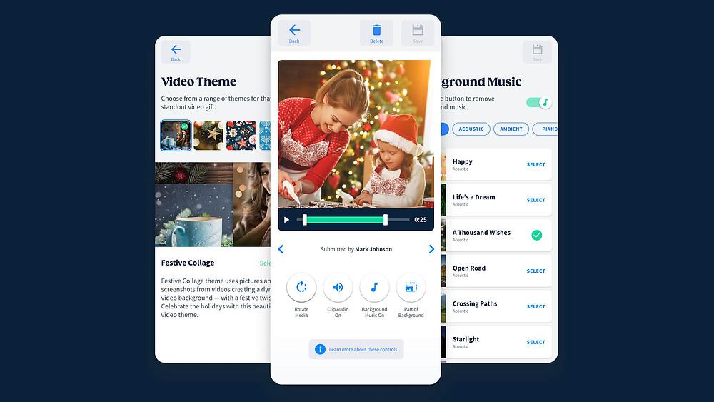 A peak inside the  VidDay video maker app