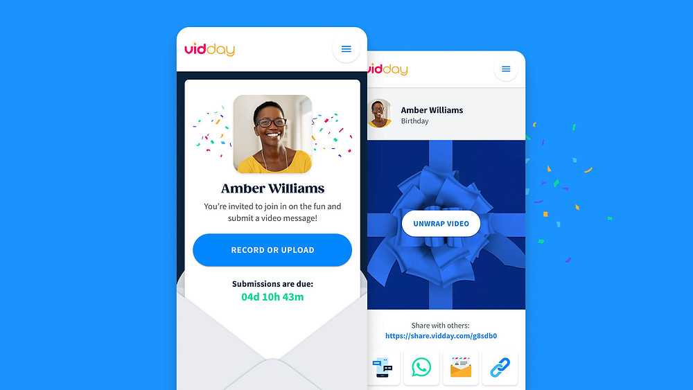 a user friendly vidday app