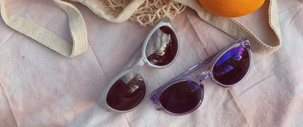 Two pairs of SWWAY sunglasses for an anniversary gift