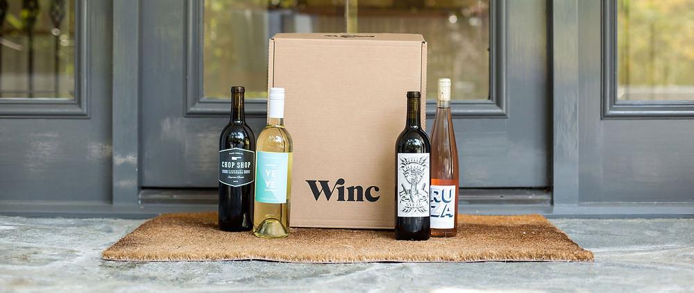 Wine bottles for an anniversary gift