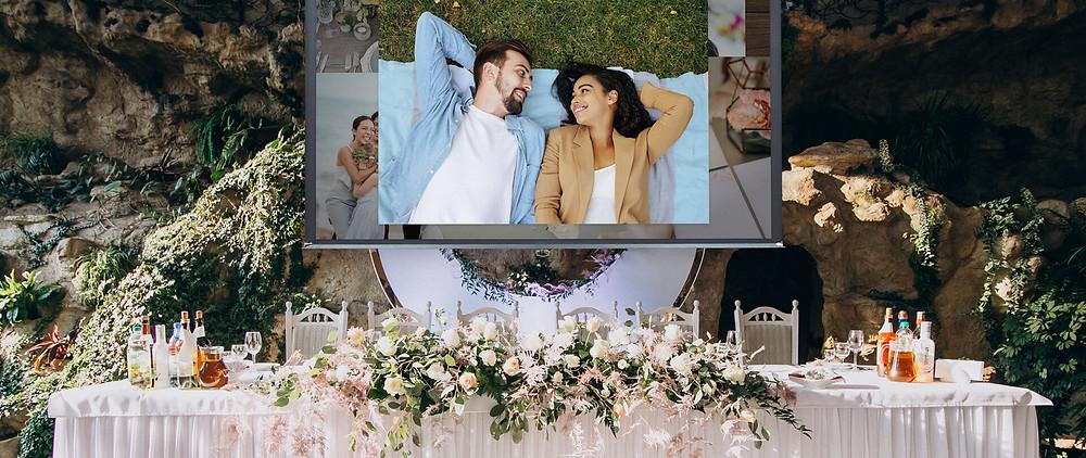 A VidDay wedding video gift