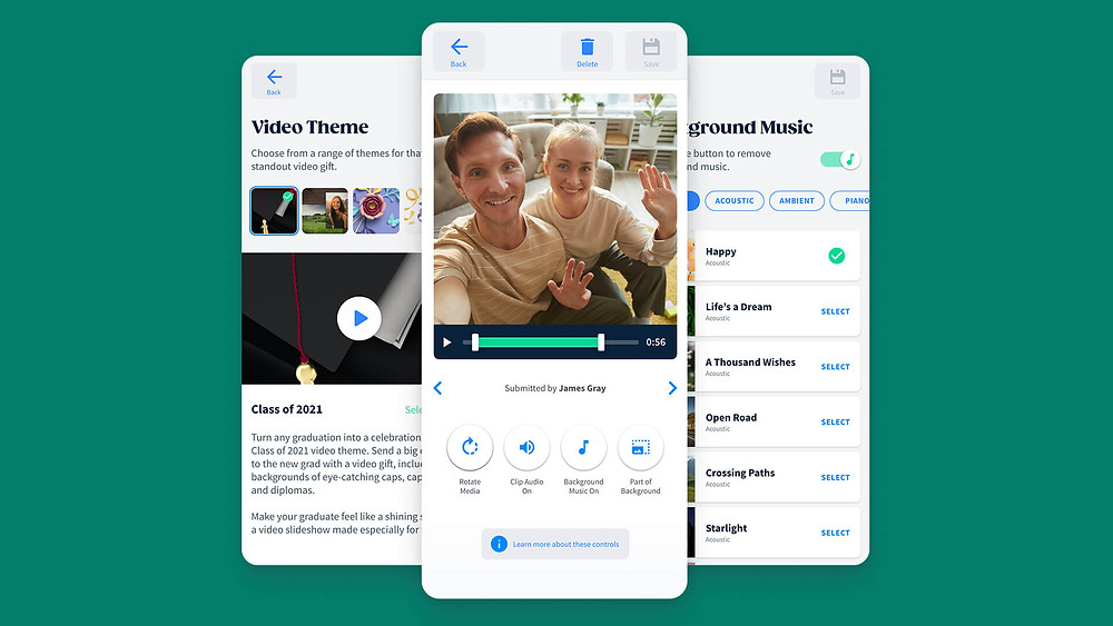 A look inside the VidDay app for school videos