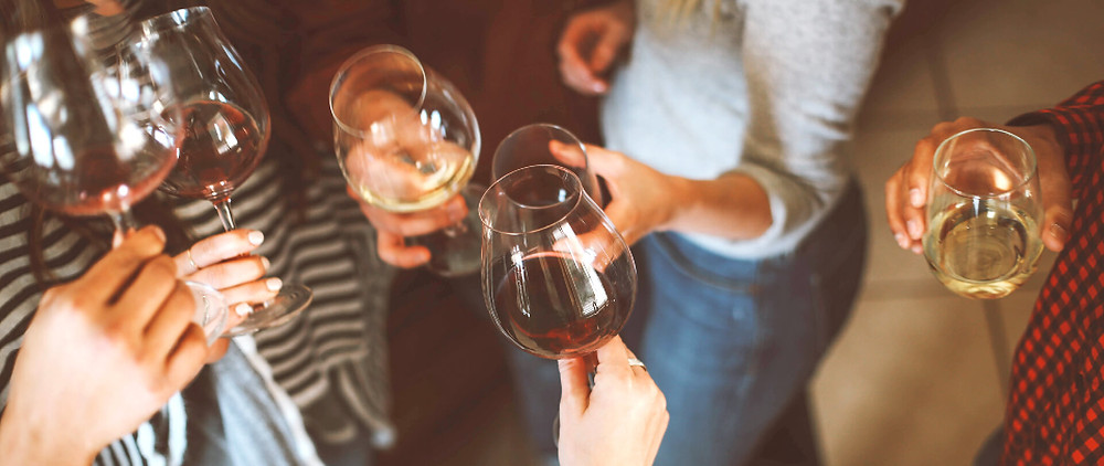 Wine and film night for your birthday party