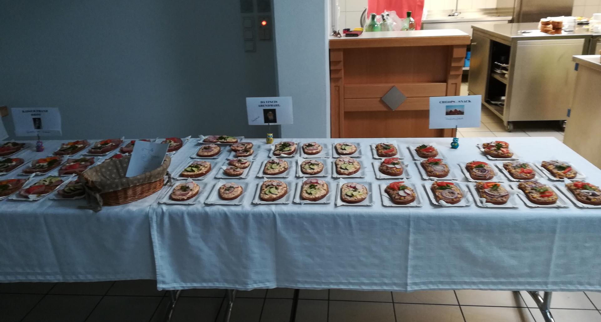 Snacks & Leckereien - Schultheater im Fuhrwerkerhaus 2017