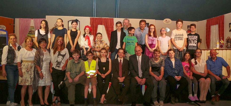 Snacks & Leckereien - Schultheater im Turnsaal 2016