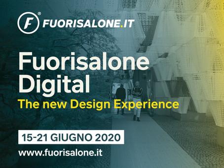 Il #Fuorisalone2020 è Digital...