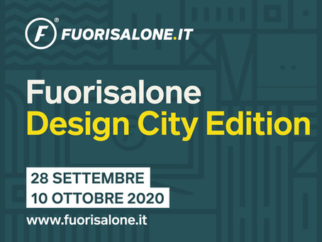 A Milano dal 28 settembre al 10 ottobre si svolgerà il #FuorisaloneDesignCityEdition