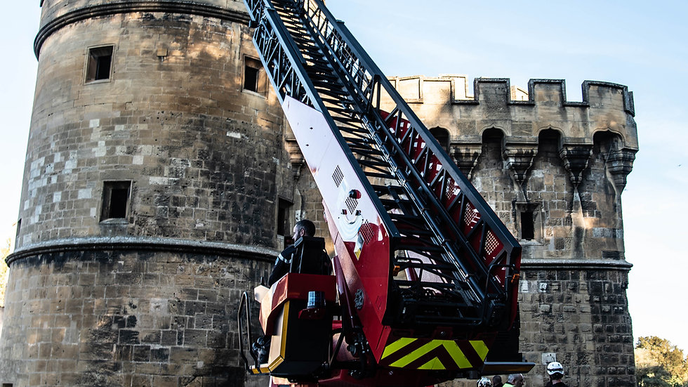 """""""Echelle aérienne des Sapeurs Pompiers de la Moselle"""""""