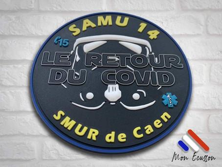Nouvel écusson pour le SAMU14