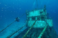 Wreck diving Santa Maria, Sal, Cape Verde
