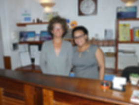 Owner and staff Hotel MiraBela