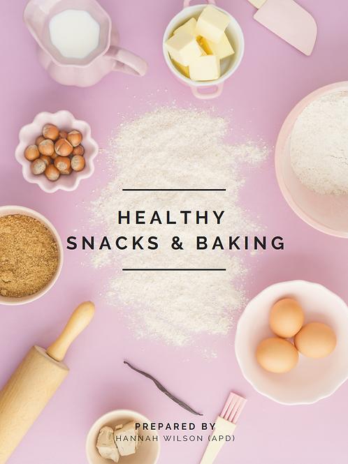Healthy Snacks & Baking