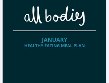 Highlighting the downloadable meal plan