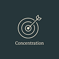 Concentration in sport