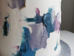 Abstract Buttercream