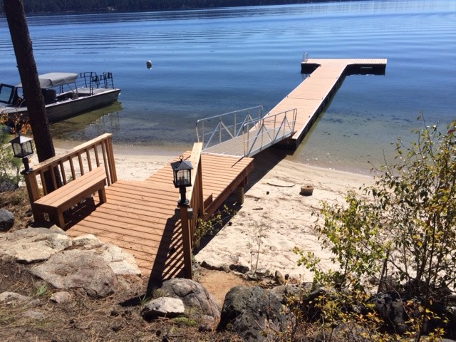 Residential Pier and Floating dock