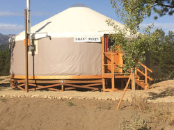 Yurt Complete construction