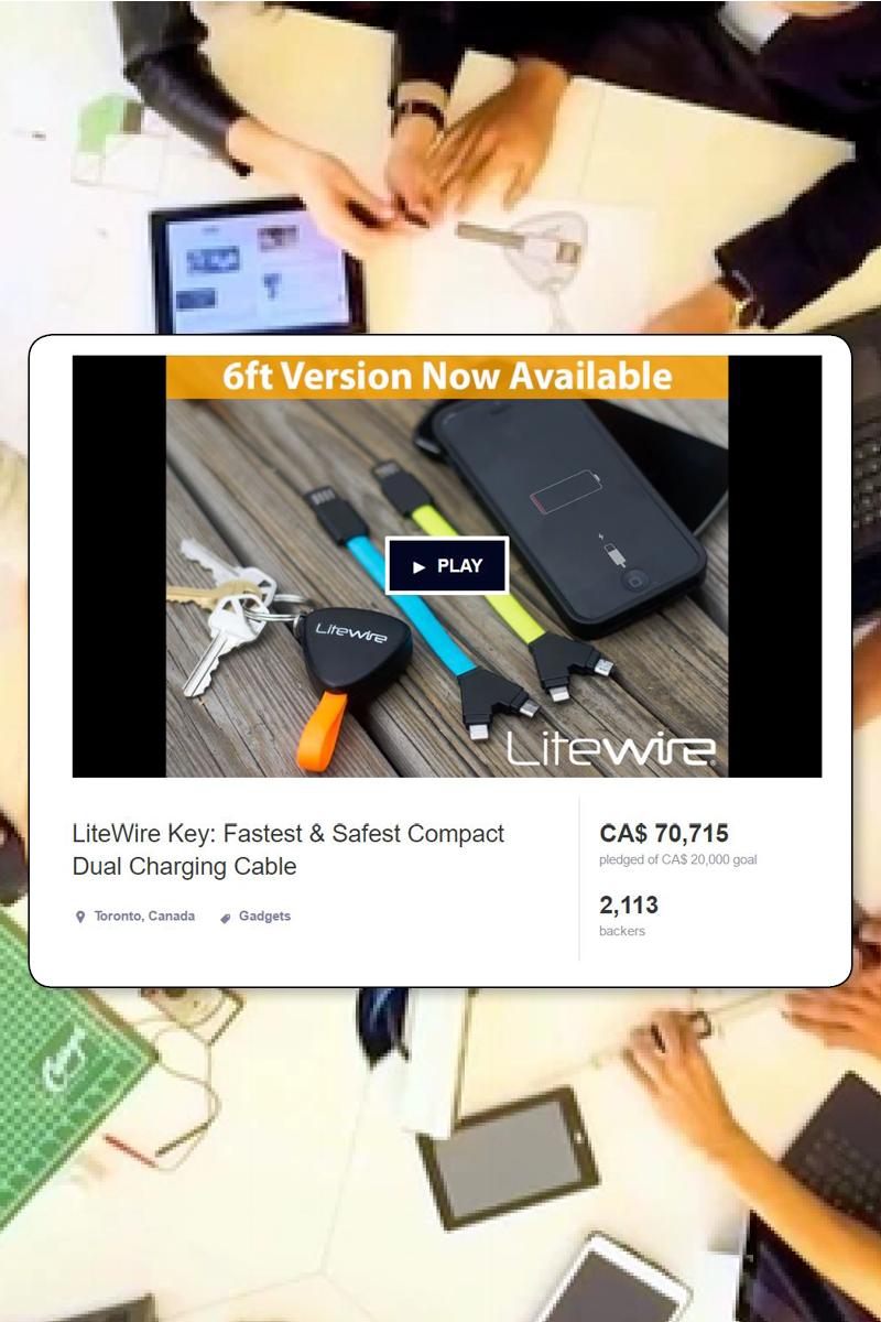 Litewire Consumer Product Design