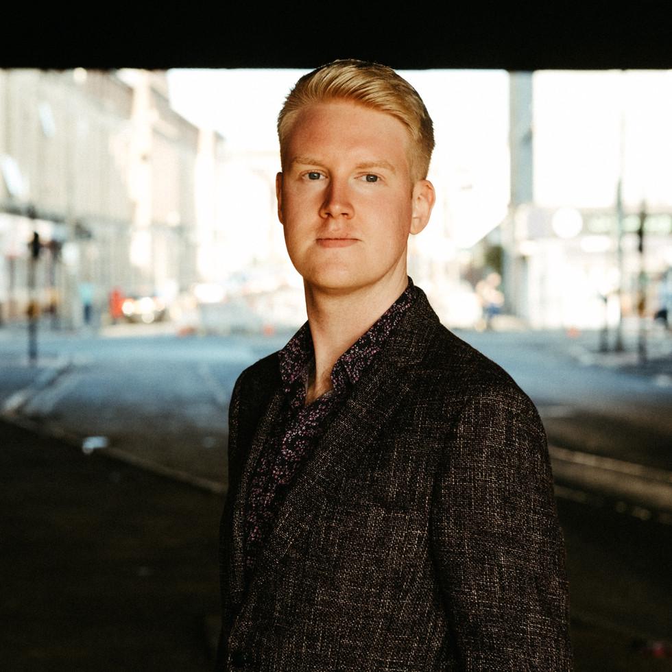 Jay Capperauld : portrait by Euan Robertson