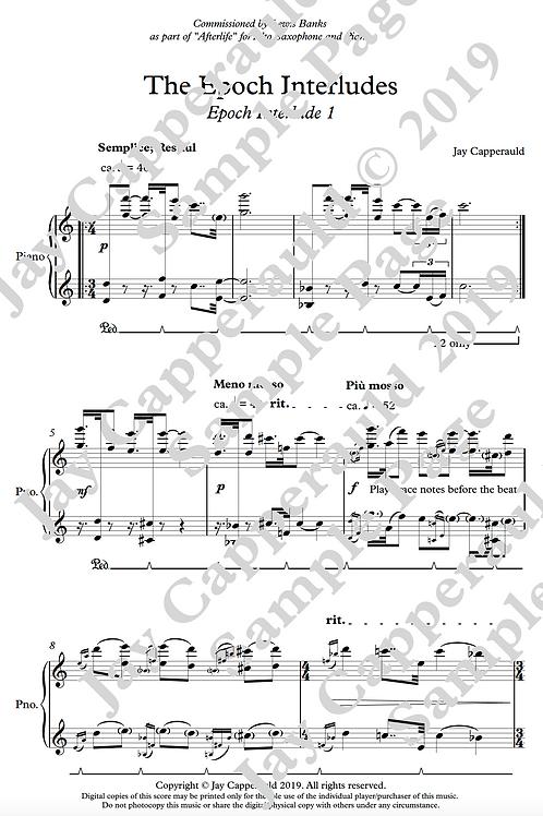The Epoch Interludes for Solo Piano (2019)