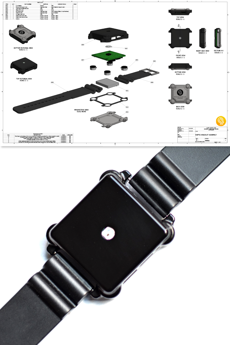 Moment Haptic Wearable Development