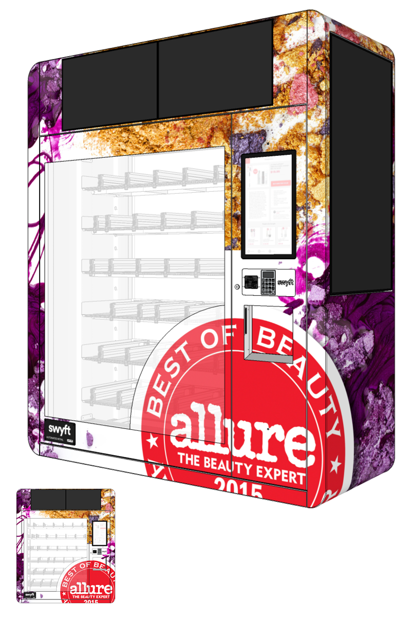 Allure Vending Machine Development