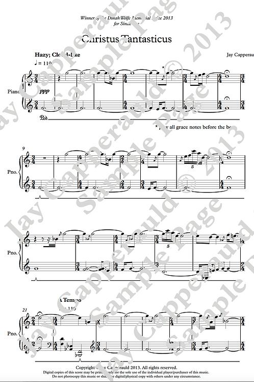Christus Tantasticus for Solo Piano (2013)